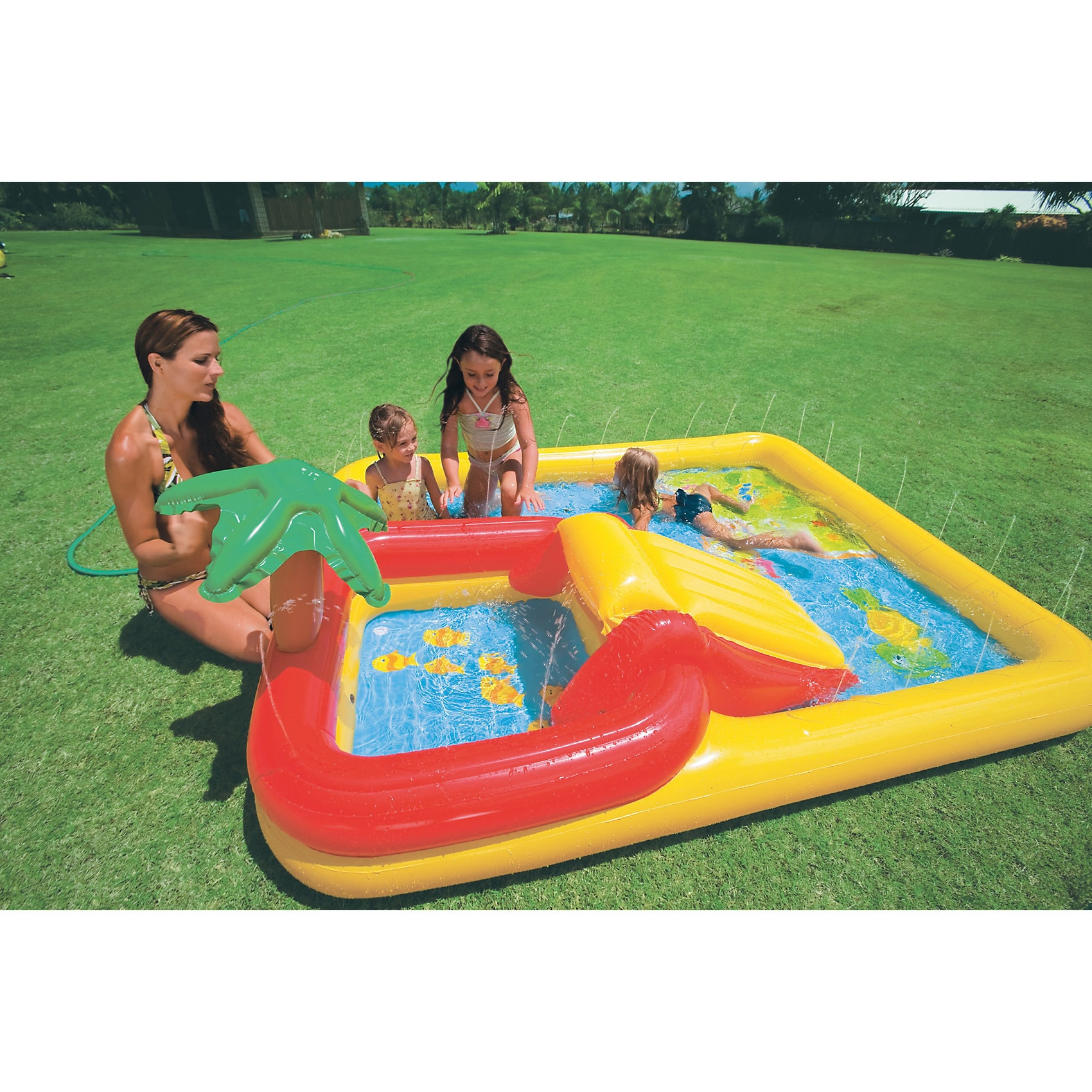 Intex Planschbecken Playcenter Ocean 254x196cm